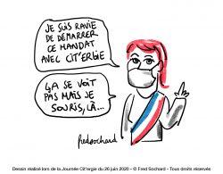 Caricature Journée Nationale Cit'ergie 2020